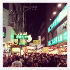 Photo taken at 逢甲夜市 Fengjia Night Market by Han on 12/15/2012