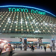 Photo taken at 東京ドーム (Tokyo Dome) by RyuziSato on 5/8/2013