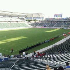 Photo taken at StubHub Center by Brian H. on 10/6/2012