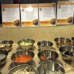Photo taken at Hi Rice! Mongolian Restaurant Grill by Laika D. on 9/17/2015