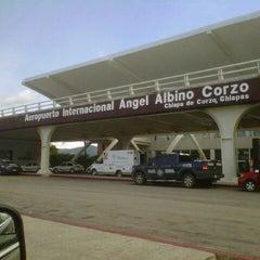 Photo taken at Aeropuerto Internacional de Tuxtla Gutierrez Ángel Albino Corzo (TGZ) by Froylän on 7/7/2013