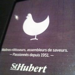 Photo taken at Rôtisserie St-Hubert by Jean-Luc D. on 9/18/2012