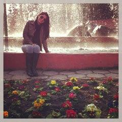 Photo taken at Apoquindo con Malaga by Danielle Alencar on 8/24/2013