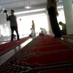 Photo taken at Masjid Agung Al-Falah by dimas on 5/7/2013