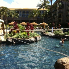 Photo taken at Westin KOR Villas - North Pool by Tangster on 10/14/2012