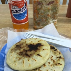 Photo taken at El Salvador Bakery by Andres C. on 10/12/2014
