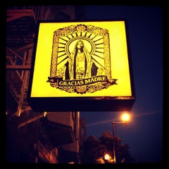 Photo taken at Gracias Madre by Annie L. on 9/20/2012