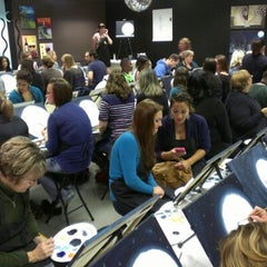 Photo taken at Wine And Canvas Art Studio by IN the Loop T. on 10/14/2012