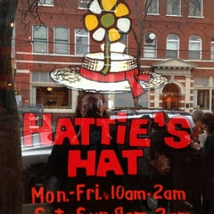 Photo taken at Hattie's Hat Restaurant by Amy A. on 1/27/2013