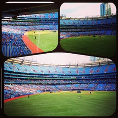 Photo taken at Rogers Centre by Vince S. on 6/21/2013