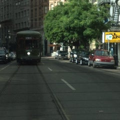 Photo taken at St. Charles Avenue Streetcar by James on 6/5/2013