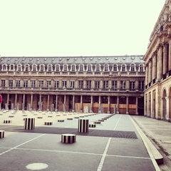 Photo taken at Palais Royal by Richard A. on 4/4/2013