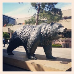 Photo taken at UCLA Bruin Statue by Brian S. on 3/29/2013