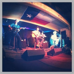 Photo taken at Gruene Hall by giovanni on 7/25/2013