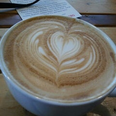 Photo taken at Dollop Coffee & Tea Co. by Gina K on 11/10/2012