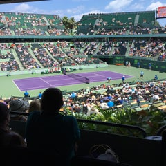 Photo taken at Grandstand Court - Sony Ericsson Open by Campo Elias P. on 4/2/2015