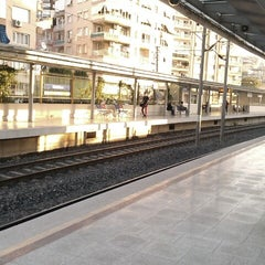 Photo taken at İzban Naldöken İstasyonu by Ysmn D. on 10/20/2012