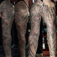 Photo taken at Remington Tattoo by Terry on 9/15/2013
