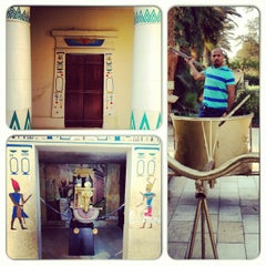 Photo taken at Pharaonic Village by Ahmad A. on 6/15/2013