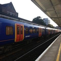 Photo taken at Basingstoke Railway Station (BSK) by Ahmad A. on 10/16/2012