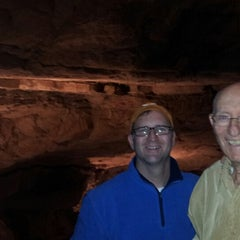 Photo taken at Cumberland Caverns by Ross J. on 1/1/2013