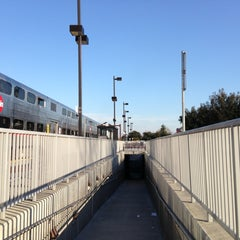 Photo taken at California Ave Caltrain Station by Uldis L. on 3/14/2013