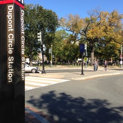 Photo taken at Dupont Circle by Avner P. on 10/21/2012