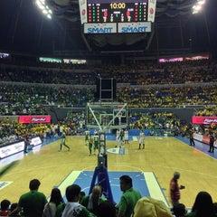 Photo taken at SMART Araneta Coliseum by M S. on 10/5/2013
