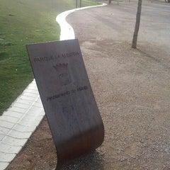 Photo taken at Parque de la Alegría by casabermejatony on 11/3/2012