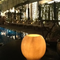 Photo taken at La Terrasse @ Sofitel Metropole Hotel by Igor Z. on 1/21/2013