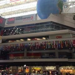 Photo taken at CNN Center by Banu on 5/24/2013