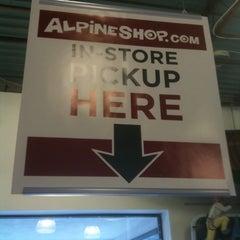 Photo taken at Alpine Shop by Jon F. on 1/13/2013