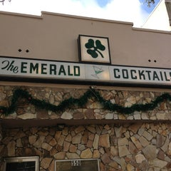 Photo taken at Emerald Bar by Odie C. on 12/18/2012