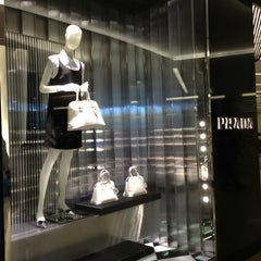 Photo taken at Prada by LENA T. on 1/26/2013