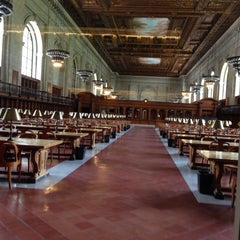 Photo taken at Rose Main Reading Room by Jon D. on 7/9/2014