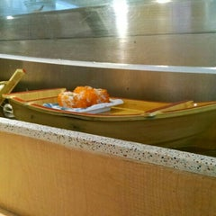 Photo taken at Floating Sushi Boat by Yan C. on 10/24/2015
