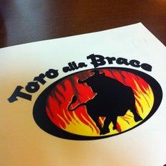 Photo taken at Toro alla Brace by Francesco on 10/31/2012