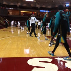 Photo taken at TD Arena, College of Charleston by Preston on 12/22/2012