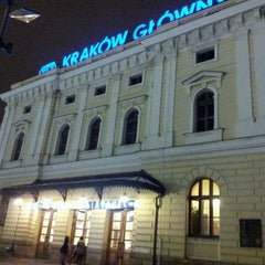 Photo taken at Kraków Główny by Marcin L. on 2/21/2013