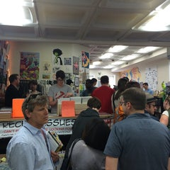 Photo taken at Fantom Comics by Carlos P. on 5/2/2015