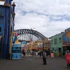 Photo taken at Luna Park by Sophya on 1/10/2013