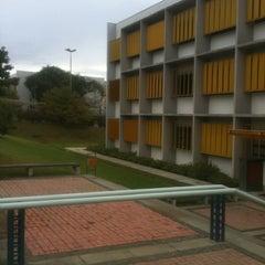 Photo taken at Bloco Amarelo (Escola de Negócios) by Tiago on 2/14/2013
