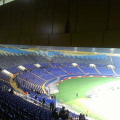 Photo taken at ОСК «Металіст» / Metalist Stadium by Борис on 2/21/2013