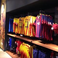 Photo taken at FCBotiga Official Store by Alper U. on 9/10/2013