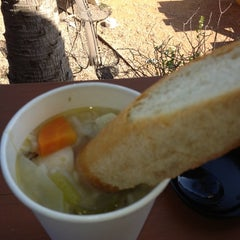 Photo taken at Soup Peddler Real Food & Juice Bar by Larry S. on 11/5/2012