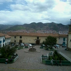 Photo taken at Plaza de San Blas by Ignacio L. on 3/3/2013