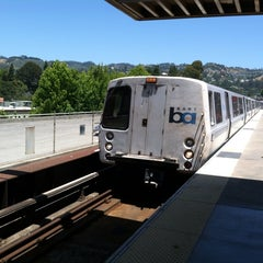 Photo taken at Rockridge BART Station by Jason S. on 6/2/2013