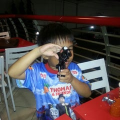 Photo taken at SPBU Khatib Sulaiman ^^ by Muhammad T. on 11/21/2012