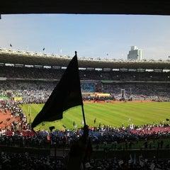 Photo taken at Stadion Utama Gelora Bung Karno (GBK) by Meydiansyah N. on 6/2/2013
