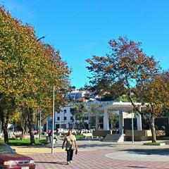 "Photo taken at Plaza de Armas Talcahuano by Esteban ""Zephyroth"" S. on 3/10/2013"